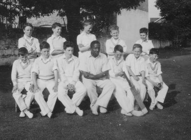Learie Constantine with Junior Team LCC 1947