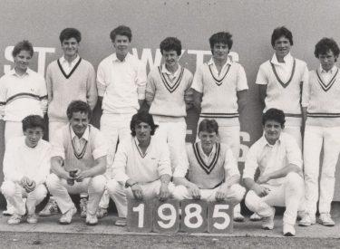 Senior XI 1985