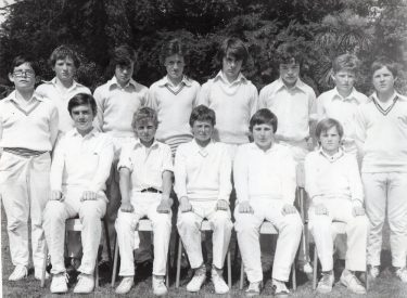 U14 XI 1978