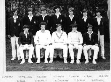 1972 Senior XI