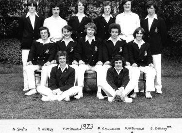 1973 Senior XI
