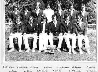 1974 Senior XI