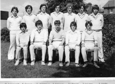 1979 Senior XI